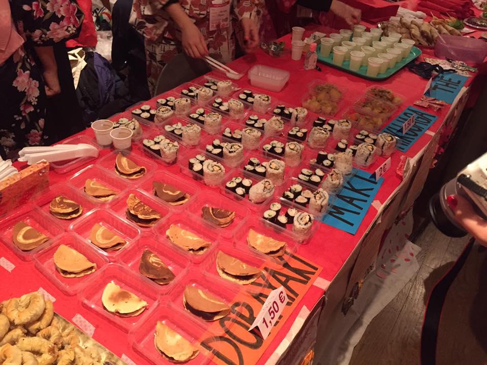 Japanese food. Photo by Mayuko Hamada.