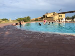 Enjoying agriturismo life outside of Piazza Armerina