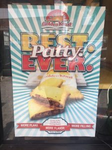 "Golden Krust is a Jamaican restaurant I visit in the Bronx when I am in the mood for "" The best patty ever!' YUM!"