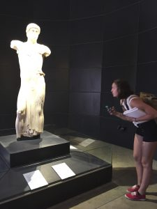 Admiring the Mozia Charioteer