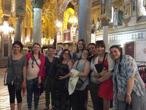 Gawking at the Cappella Palatina