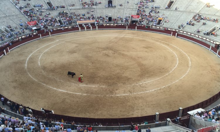 The biggest bull ring in Spain and the third largest in the world
